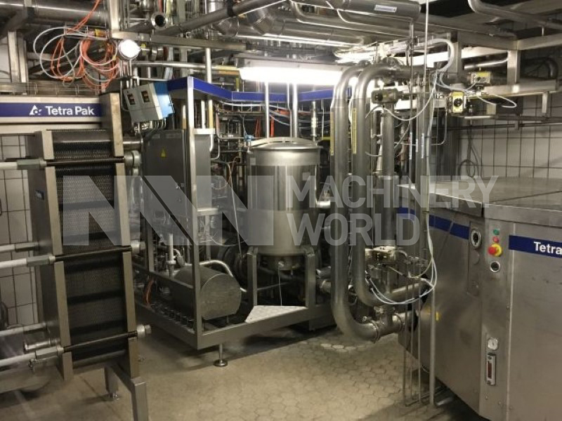 Tetra Pak Aseptic / ESL Milk Process Plant - 7.400 - 14.300 L/h Primary Photo