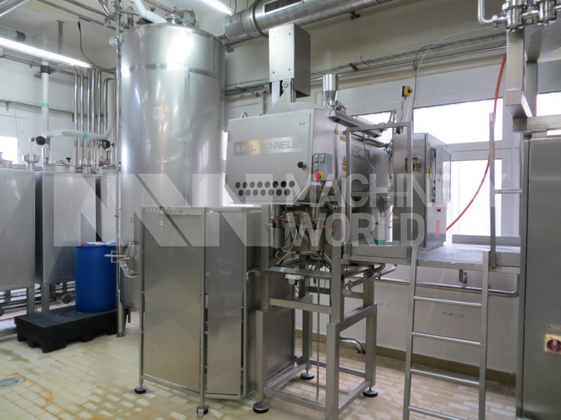 Karl Schnell 740 Mozzarella Process Cooker - 200 kg Primary Photo