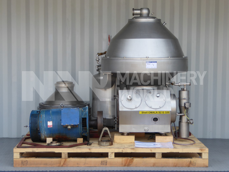 Alfa Laval DMRPX 517 SGV-74C <br />Whey Clarifier - 50.000 l/h Primary Photo