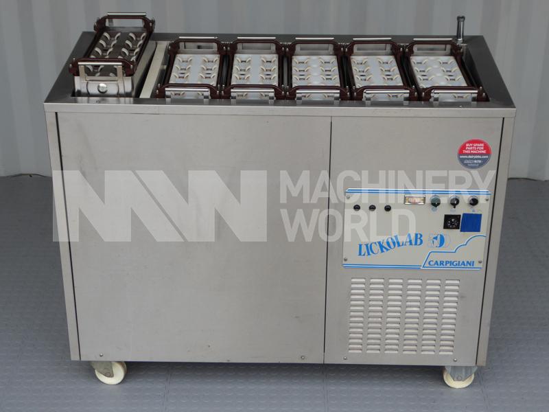 Carpigiani Lickolab 500 Ice Cream Stick Popsicle Machine Machinery World