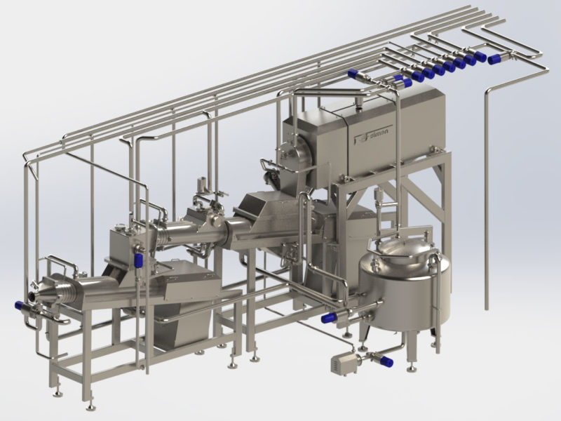 Simon Freres Contimab Proflex butter making machine