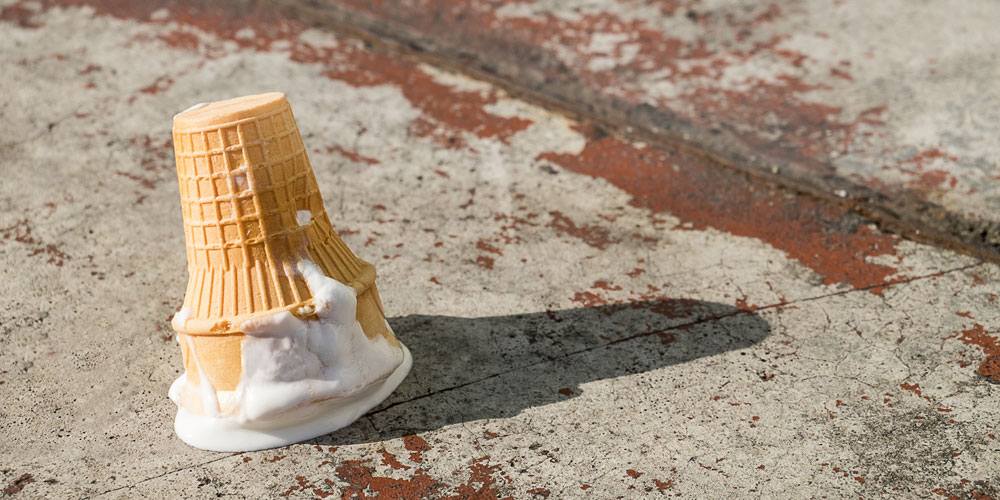 Is time up for plain vanilla flavour ice creams?