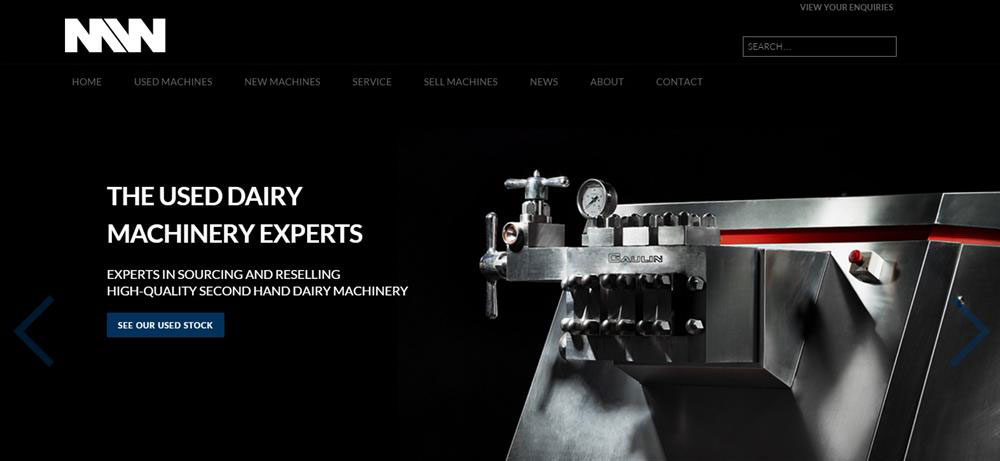 Machinery World Launch New Website to Improve the Customer Journey and Reflect Company Aspirations