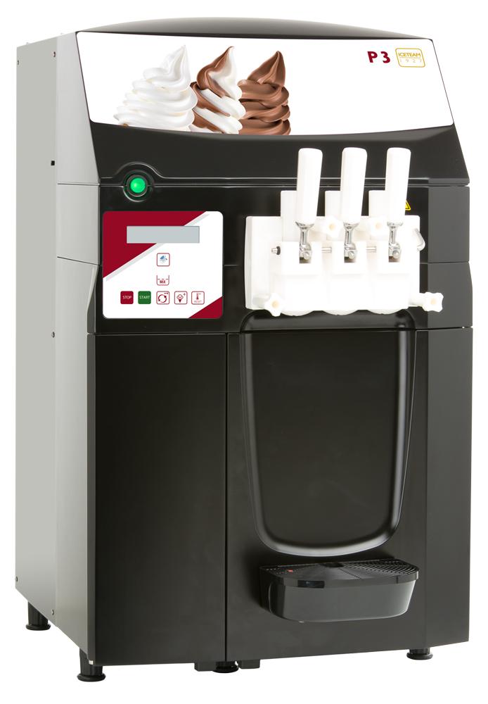 Cattabriga P1 P3 Soft Serve Ice Cream Yoghurt Machines Machinery World