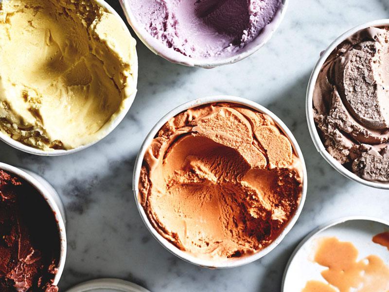 The health benefits of ice cream