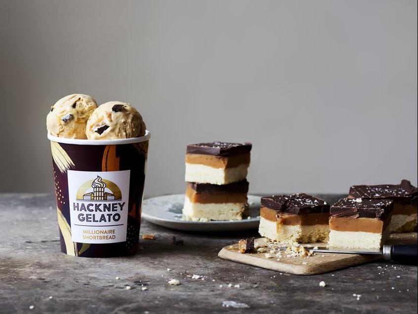 Luxury ice cream machinery